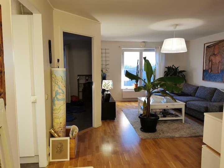 Del i Lägenhet med stor balkong