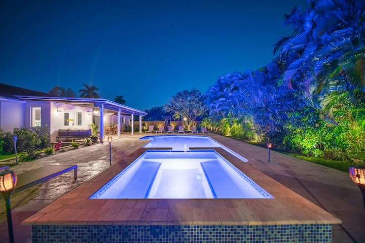 Gated Luxury Retreat in Heart of Miami 🌴 Heated Saltwater Pool