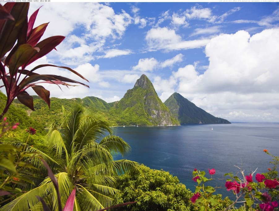 Pitons in Soufriere