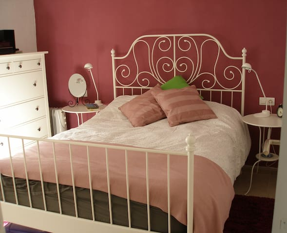 B&B Double Bed, Village House, Terrace Views