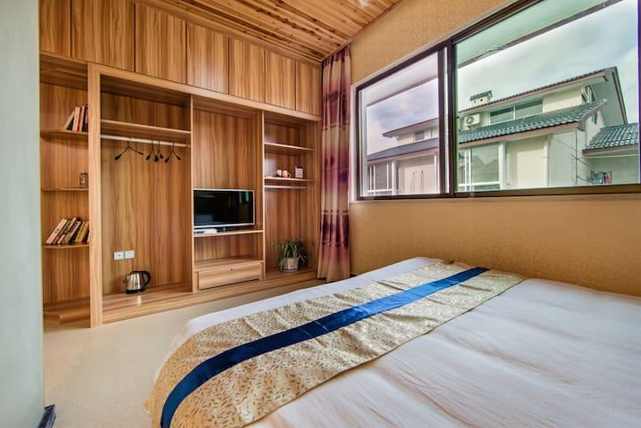 武夷山度假区 风雅轩1.8米大床房 - Nanping - Flat