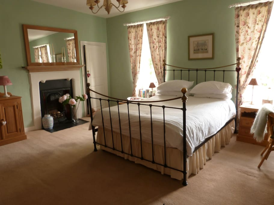 Master bedroom, with a king sized bed and en-suite facilities.