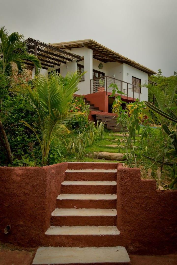 A casinha mais linda da praia de Peroba
