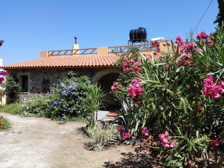 Schönes Ferienhaus am Meer Westküste Kreta