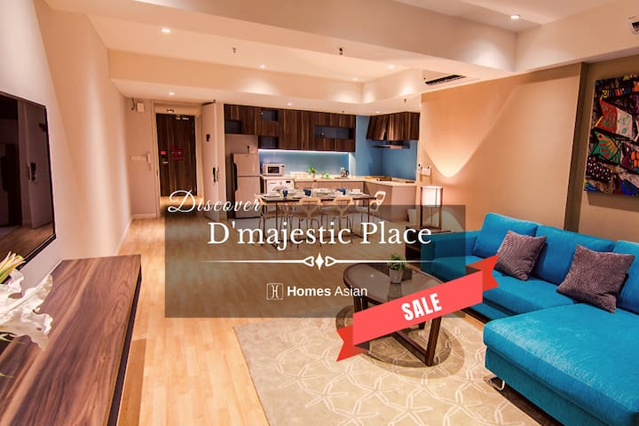 D'majestic Place by Homes Asian - King Suite. D62