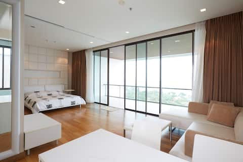 Seaview BeachFront 1 BR, LaemMaePhim beach, Rayong