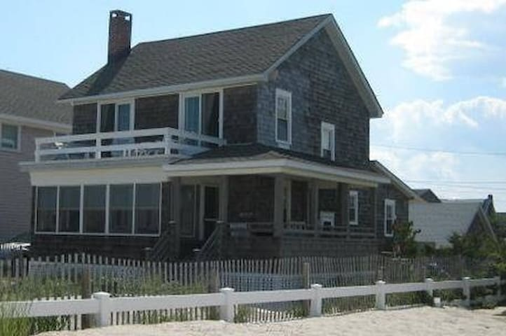 Oceanfront home in Lavallette