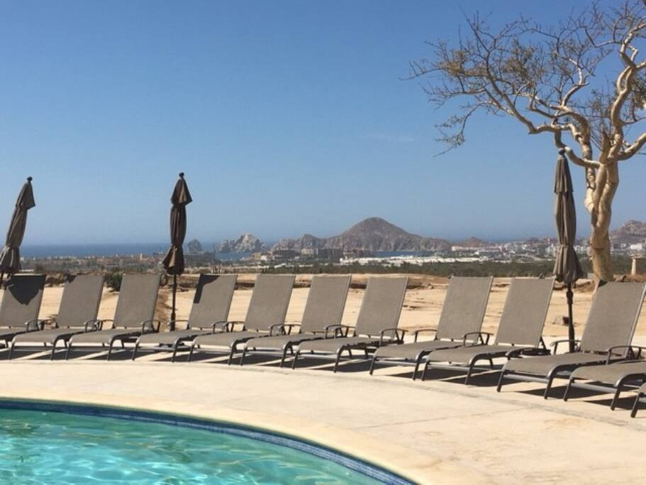 Pool overlooking the Sea of Cortez