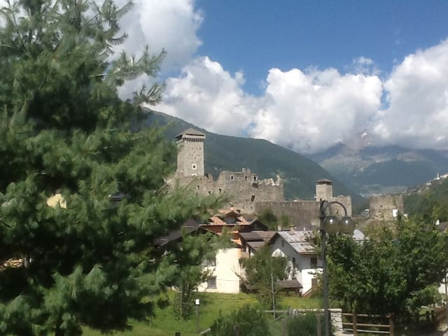 In the Sun Valley on the Dolomites - Ossana
