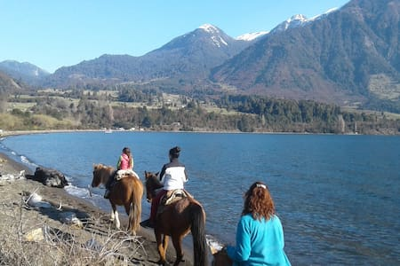 Wild Chile!  Horse Riding & Camping, Lago Rupanco