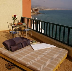 WATERFRONT, SEA VIEW, HUGE TERRACE - Agadir - Apartment