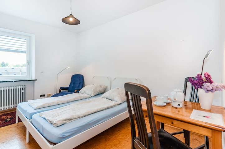 room with bath near University O2 - Regensburg - Vila