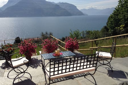 Orchidea amazing view Lake Como WI - FI  free - San Siro - Appartamento
