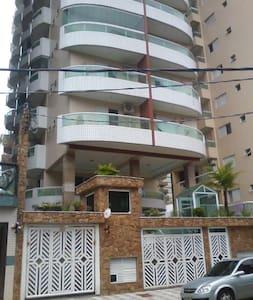 Apto Praia Grande Guilhermina uma quadra da praia - Praia Grande - Apartament