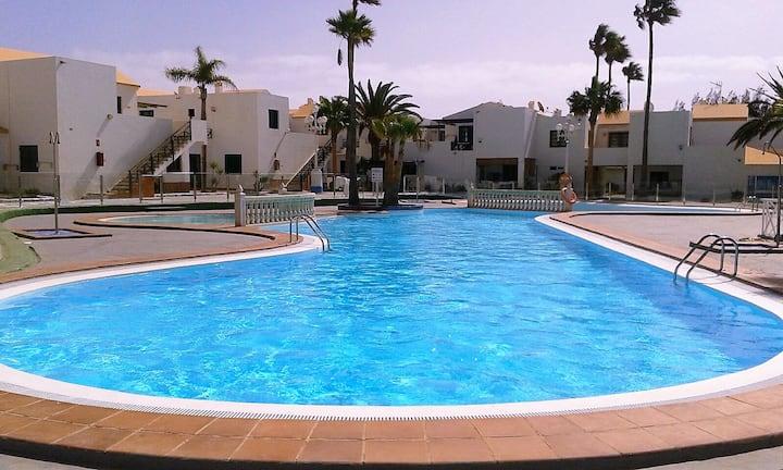 komfortables Apartment Nähe Strand Caleta de Fuste