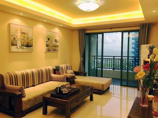 十里银滩商业街的海景两房 - Huizhou - Apartmen