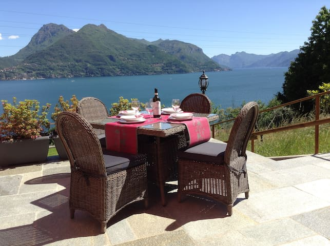 Orchidea amazing view Lake Como WI - FI  free