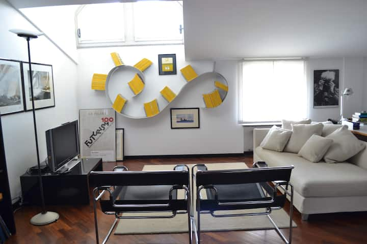 Apartament in a great house
