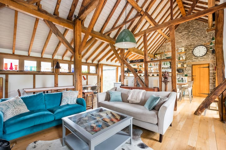 Spacious barn  in heart of Shropshire Hills