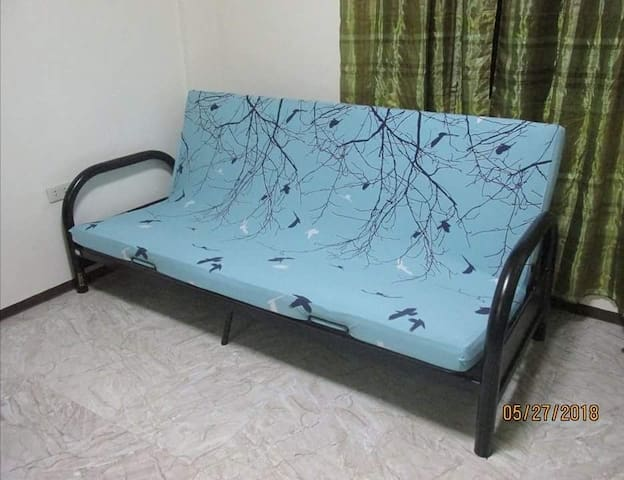 Bed can be converted into sofa