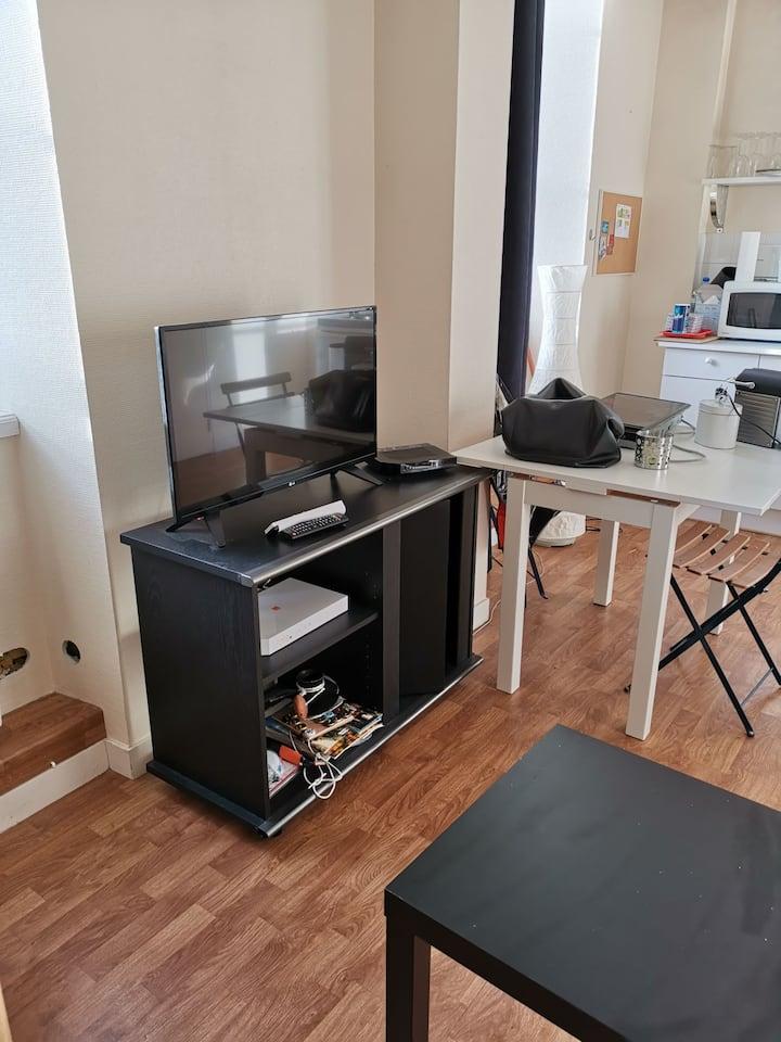 Studio près du château centre ville Dînan