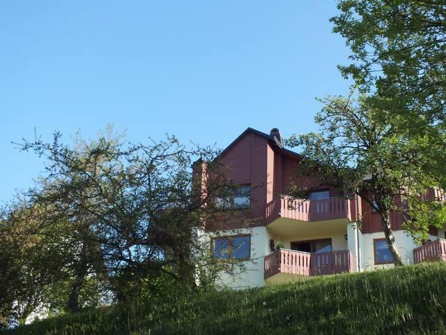 schöne Ferienwohnung am Berg  - Schwarzenbach, Bernstein am Wald - Apartamento