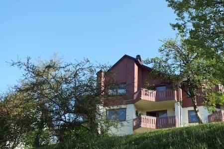 schöne Ferienwohnung am Berg  - Schwarzenbach, Bernstein am Wald - Wohnung
