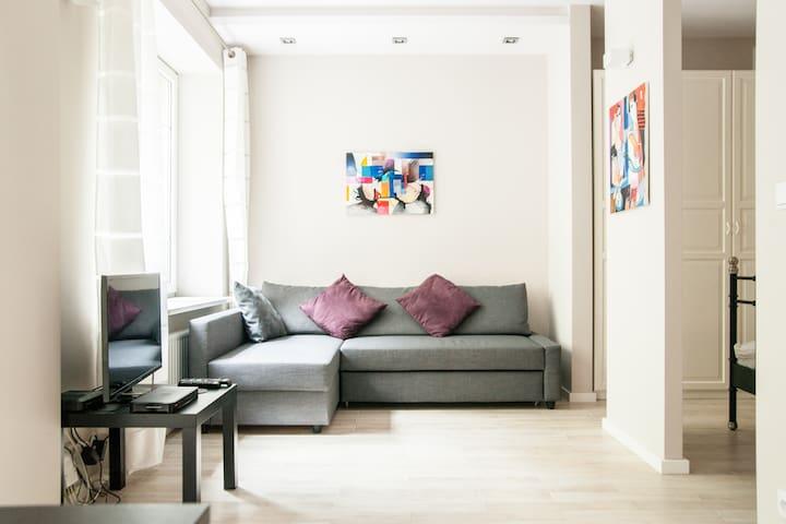 Your favourite place in Warsaw! - Varsóvia - Apartamento