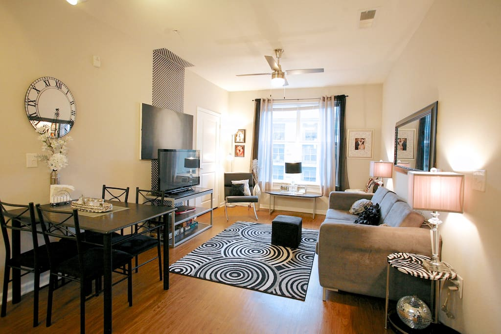 Furnished modern luxury apartment apartments for rent in for One bedroom apartments in charlottesville va