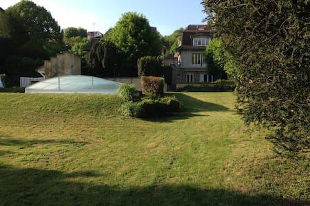 Maison, parc, piscine, 35mn Paris - Meulan-en-Yvelines - Talo