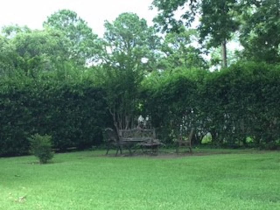 Lots of quiet green space within minutes of LSU-S and Willis Knighton Hospital