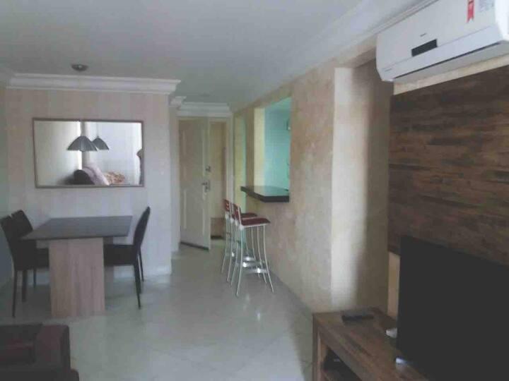 Apartamento quarto e sala Centro Guarapari ES
