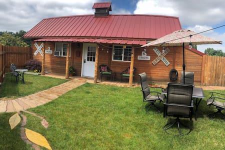 A Cozy Cabin on the Farm