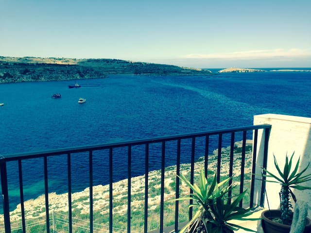Amazing View. Quiet area by the sea - San Pawl il-Baħar - Apartment