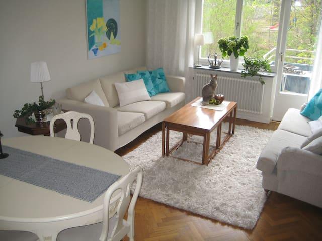 Very nice and bright apartment - Solna - Appartamento