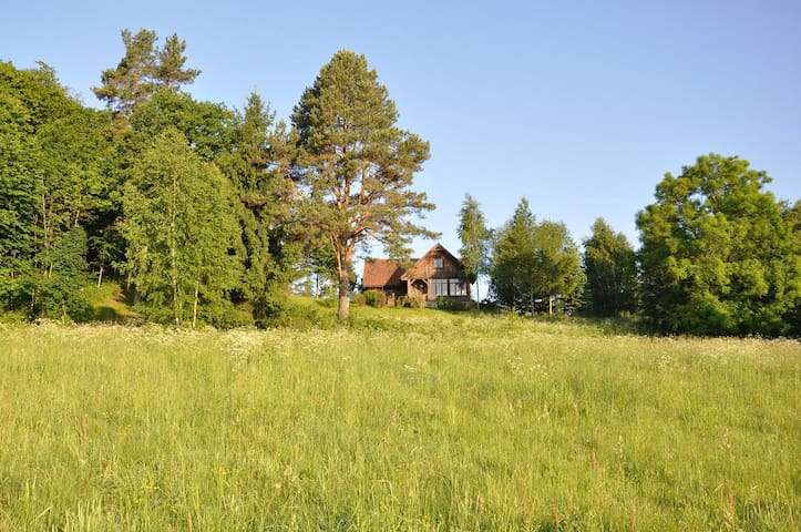 Charming lake house in Masuria - Ostróda - Maison