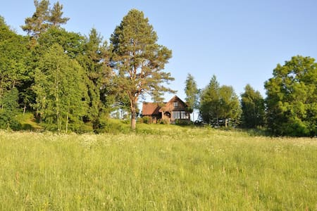 Charming lake house in Masuria - Ostróda - Casa