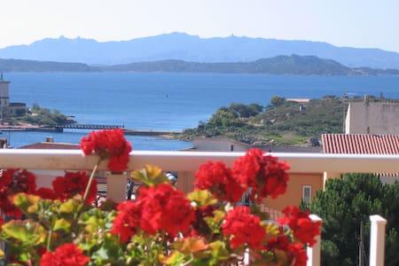 B&B Il Sorriso terraza con vistas
