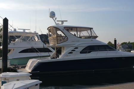 60' Sea Ray for cruising, parties and fishing - Belmar