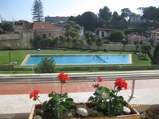 T3 pool, gynasium, sauna - Leça da Palmeira