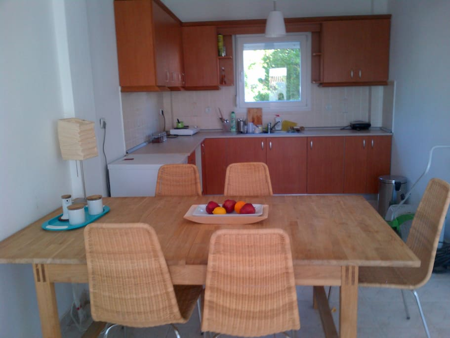 dinning room and kitchen