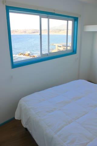 Vista al mar única desde la habitación