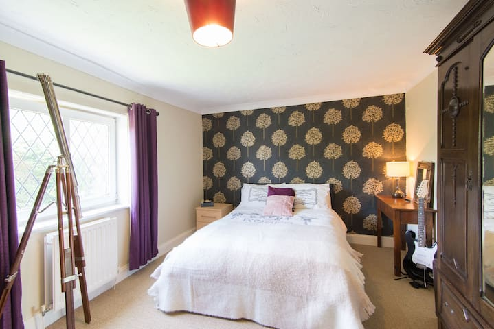 The first of 3 beautiful double bedrooms