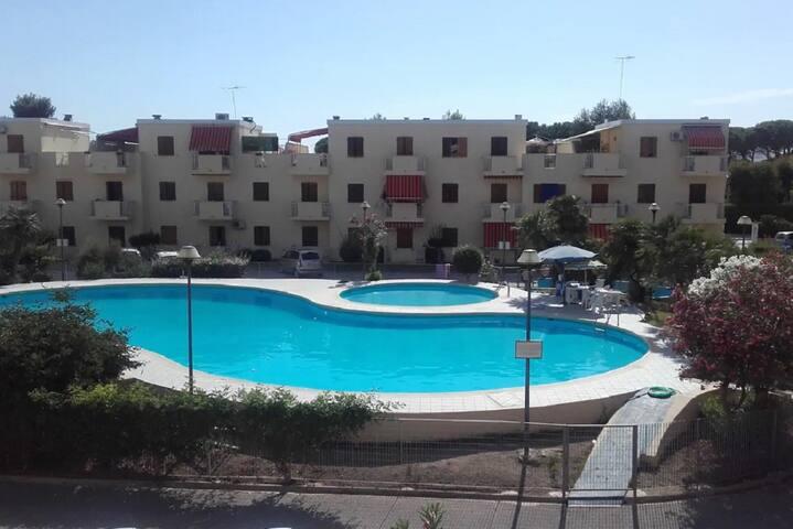 Bilocale in Residence con piscina Aragosta