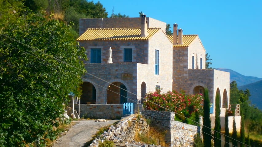 Stone House in Mani, with sea view - Githio - Apartament