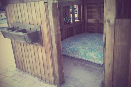Cobertizo de madera en la azotea   - Salobreña - Cabane