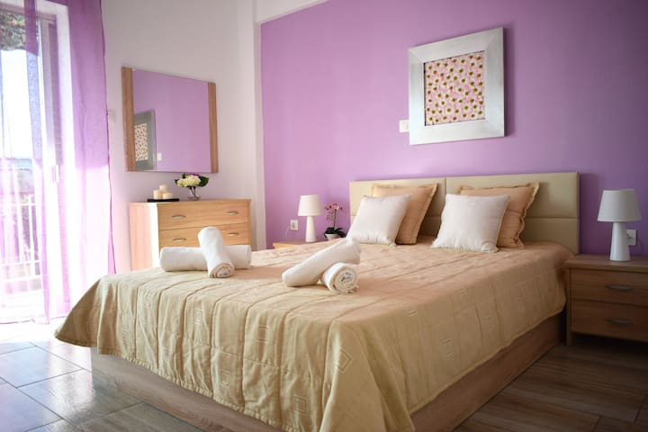 Fresh & Stylish family apt. next to the beach - Chalkidiki - Huoneisto