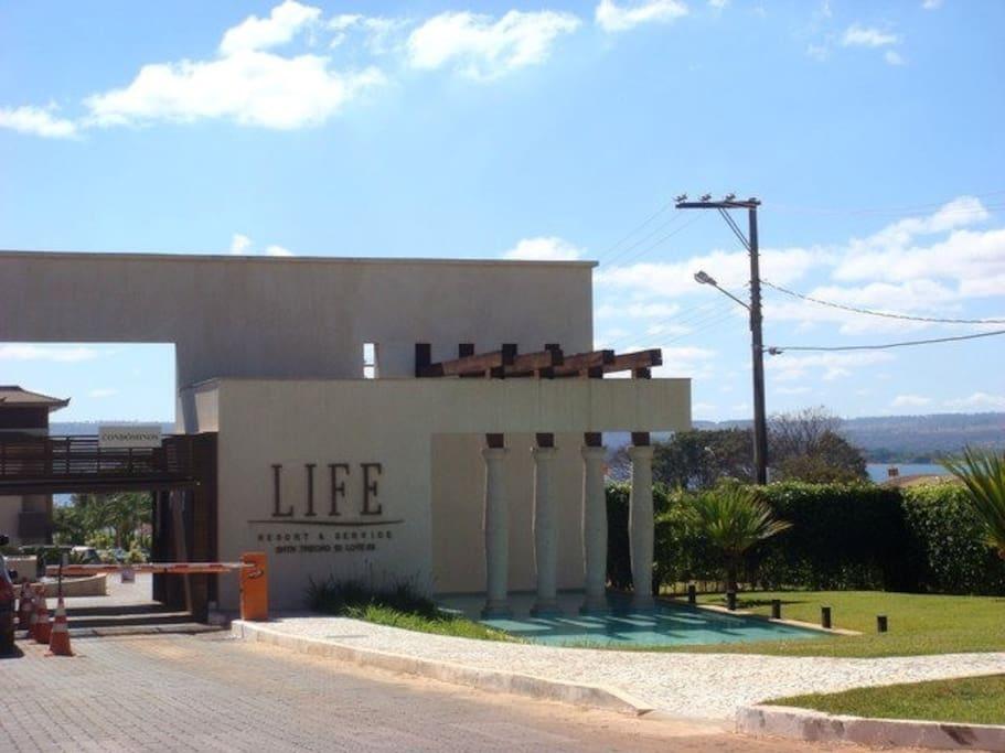 Entrance of the condo