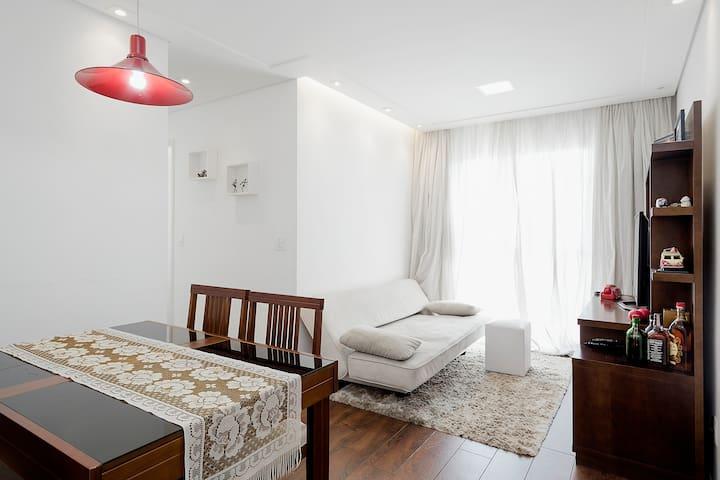 Double bedroom, individual bathroom - San Paolo - Appartamento