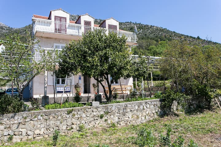 Holiday flat for 6 near Dubrovnik